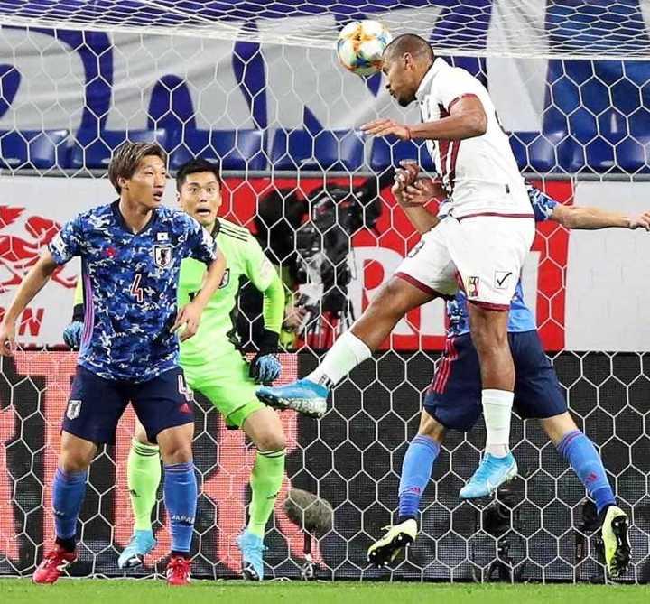 Los cuatro goles de Venezuela ante Japón