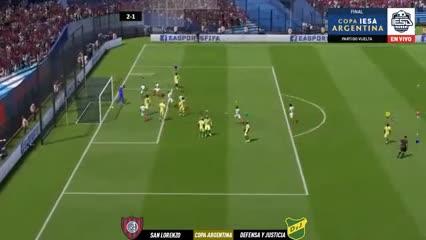 El gol que confirmó la victoria