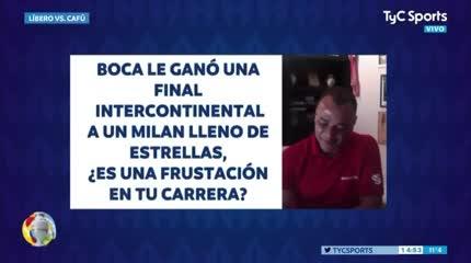 Cafú y su fanatismo por Boca