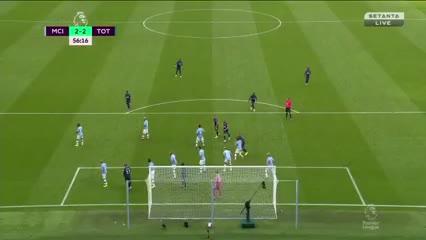 Lucas Moura puso el segundo del Tottenham