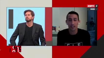 """Di María: """"Me rompo el ojete para estar en la Selección"""""""