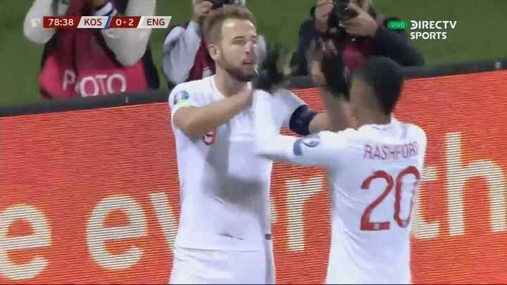 Inglaterra goleó 4 a 0 a Kosovo