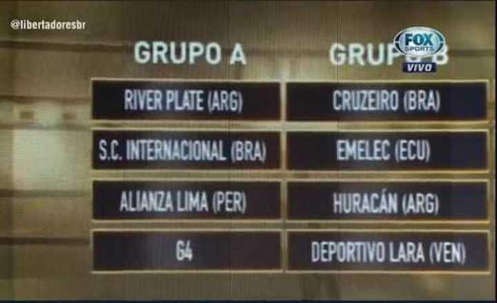 Así quedaron los cruces de la Libertadores 2019