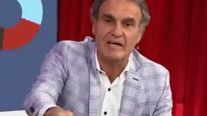 "Ruggeri: ""Vamos Racing, soy hincha de Racing"""
