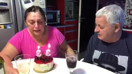 Tití Fernández y su esposa recordaron a Sole