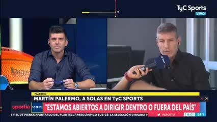 Palermo habló sobre su futuro en Boca