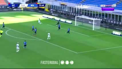 La asistencia de Nico Domínguez para la victoria del Bologna