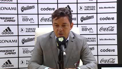 La conferencia de prensa de Gallardo