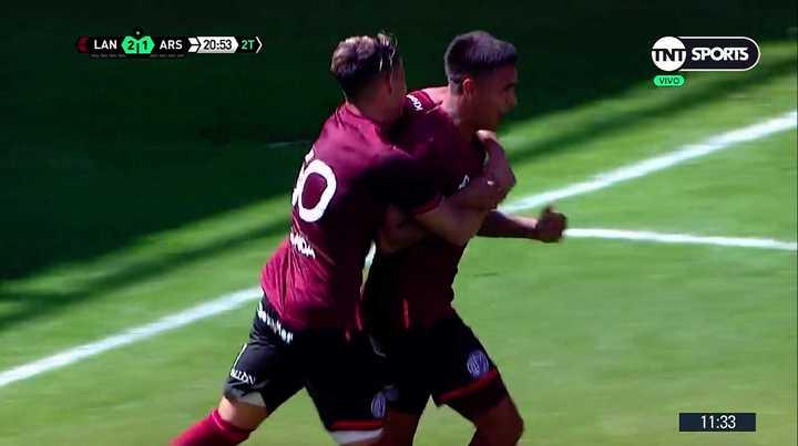 Lanús le ganó 3-2 a Arsenal en su primer amistoso de pretemporada