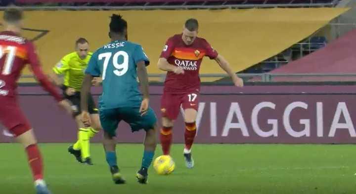 El empate de la Roma