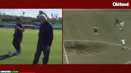Maradona narra el Gol del Siglo