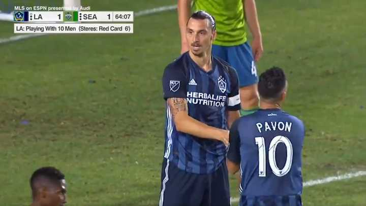 El empate 2-2 entre LA Galaxy y Seattle Sounders