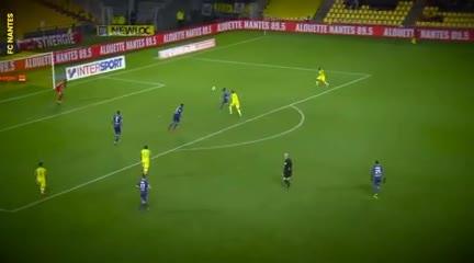 Los 42 goles de Sala en Nantes.