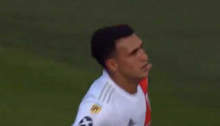 Suárez puso el cuarto gol para River
