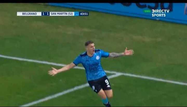 El empate agónico de Belgrano