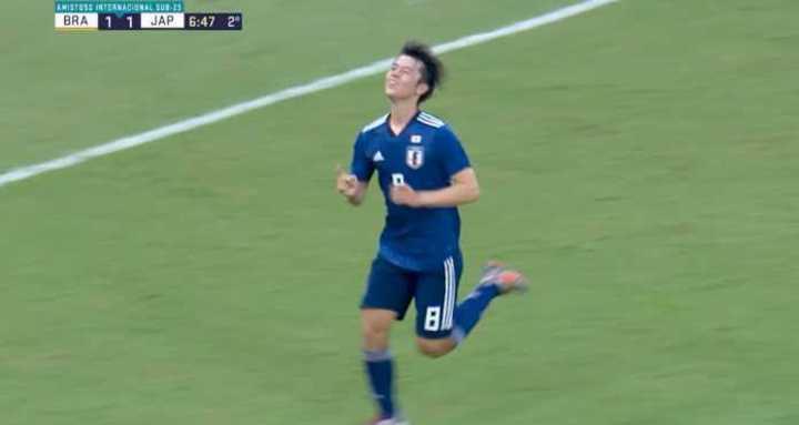 Japón sorprendió a Brasil en Recife