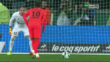 Neymar erró el penal