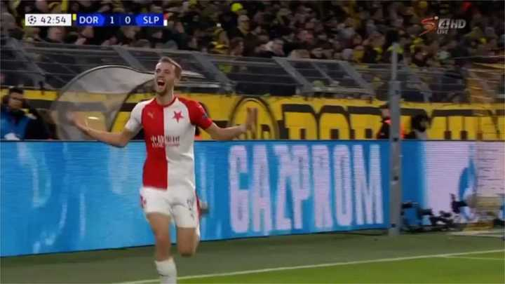 Slavia empató el partido
