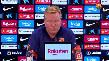 "Koeman sobre Messi: ""Es normal que esté triste"""