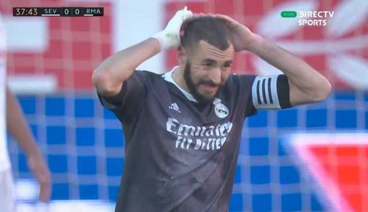 Gran tapada de Bounou a Benzema