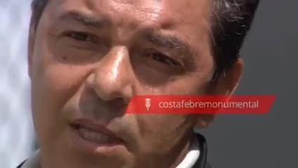 Gallardo y cómo vivió los goles de River en el Bernabéu
