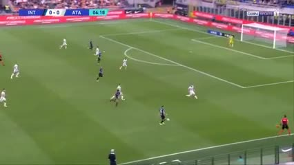 El tremendo golazo de Lautaro Martínez vs Atalanta