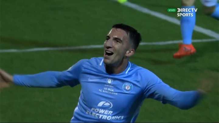 Ibiza sorprendió al Barcelona y marcó el primero del partido