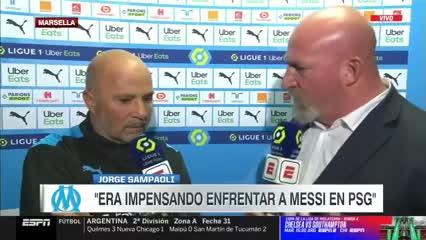 Sampaoli habló de su reencuentro con Messi