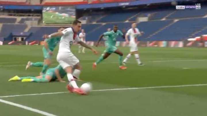 Rabona de Di María y gol de Icardi
