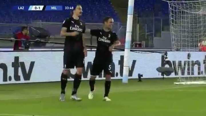El gol de Zlatan de penal