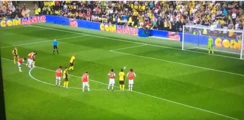 El gol de Pereyra para el 2-2 de Watford