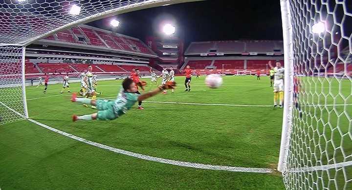 Barreto rompió el cero para Independiente