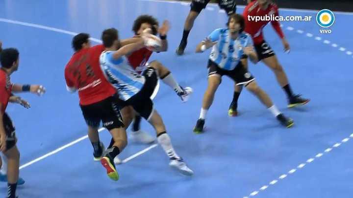 Polémicas en la caída de la Selección de handball