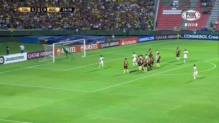 Otra vez Montero le sacó el gol a Zárate