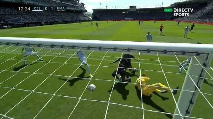 Benzema puso el 1 a 0 del Real Madrid