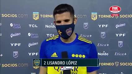 """""""Me mata no jugar, me mata ser suplente"""", dijo Lisandro López"""