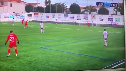 El insólito gol acontecido en España