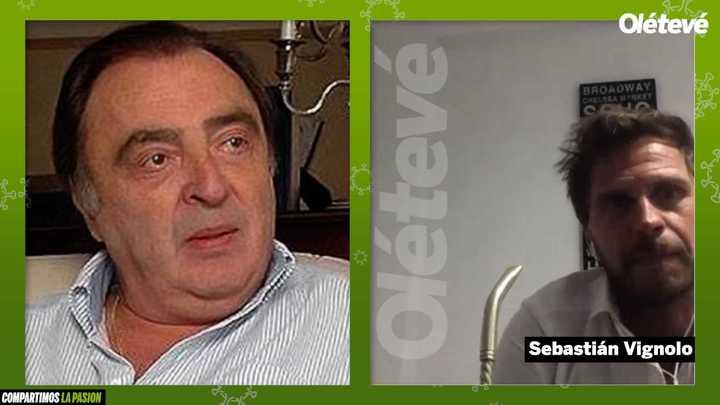 """Vignolo: """"Araujo fue el Maradona del 86"""""""