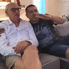 El mensaje de Bianchi y Riquelme a los hinchas de Boca en su día