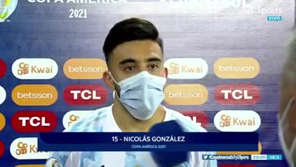 La palabra de Nico González