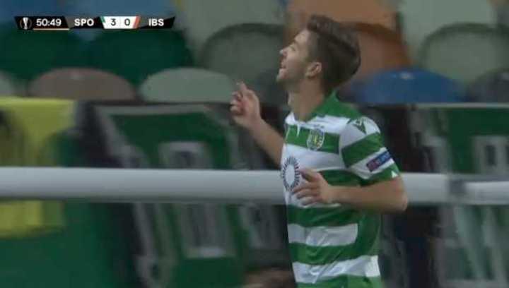 El gol de Vietto para el Sporting CP
