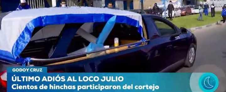 La despedida polémica al Loco Julio