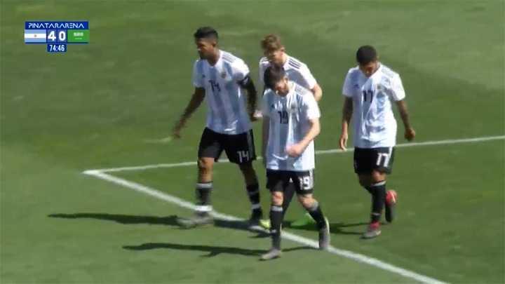 Golazos en la victoria de Argentina Sub 20 contra Arabia Saudita