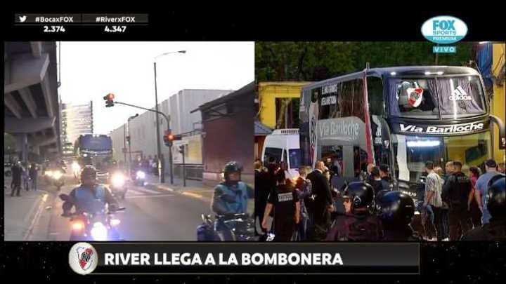 River llegó a La Bombonera