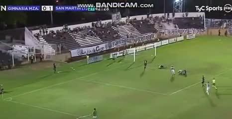 El 3-0 de San Martín (T) a Gimnasia (M)