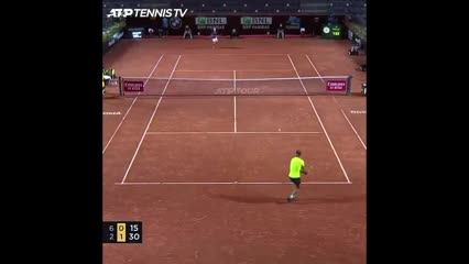 Los puntazos de Schwartzman al ganarle a Nadal 6-2 y 7-5 y pasar a la semi de Roma