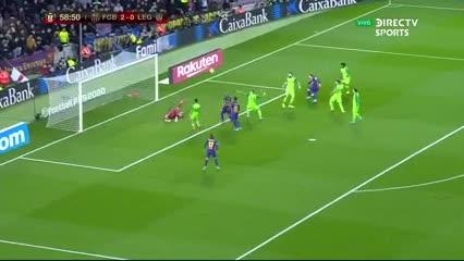 Messi marcó el tercero
