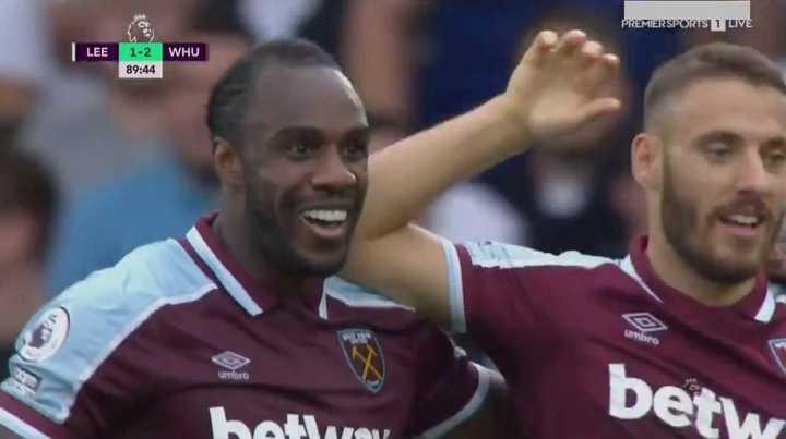 West Ham lo ganó sobre el final