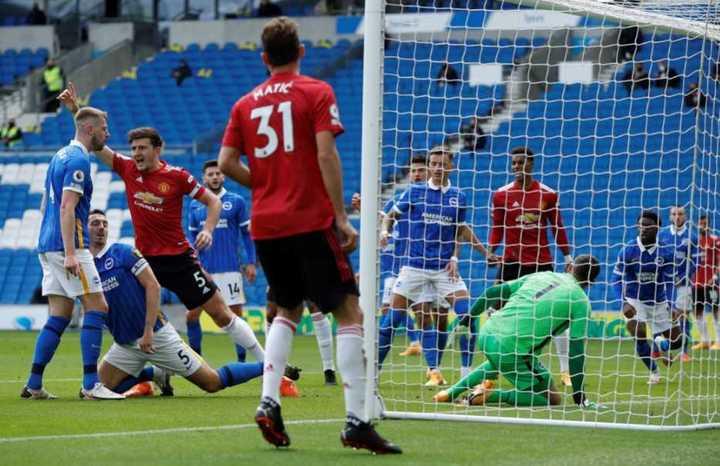 El empate de Maguire para el Manchester United (1-1)