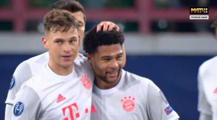 Bayern le ganó 2 a 1 a Lokomotiv